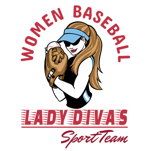 women's baseball lady divas sport team