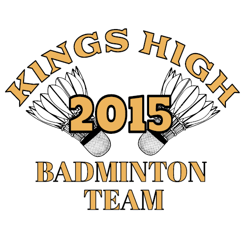 kings high 2015 badminton team