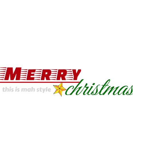 merry this is mah style christmas