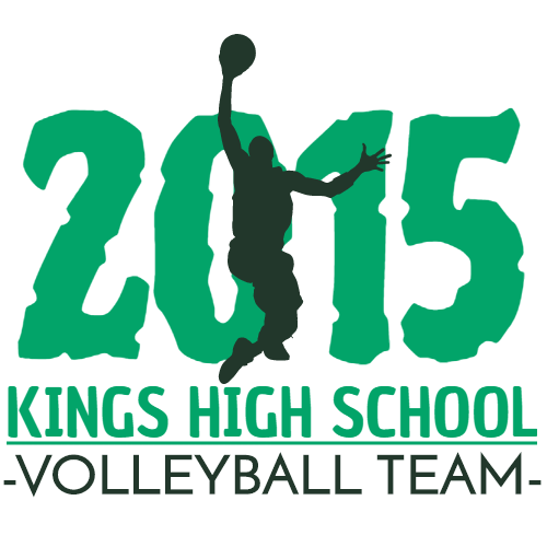 2015 kings high school volleyball team