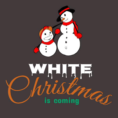 white christmas is coming