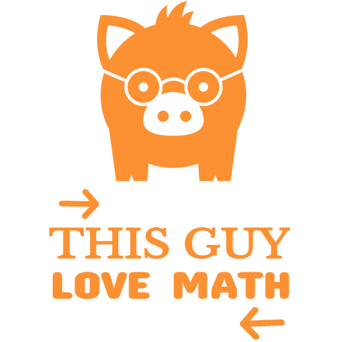 this guy love math