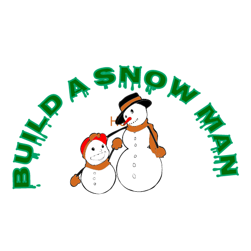 build a snow man