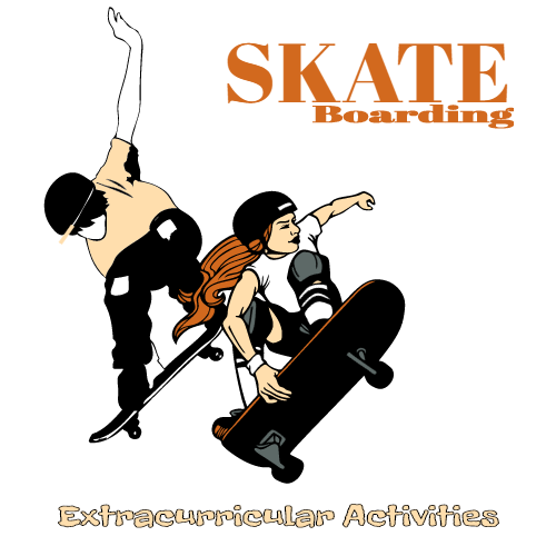 skate-boarding extracurricular activities