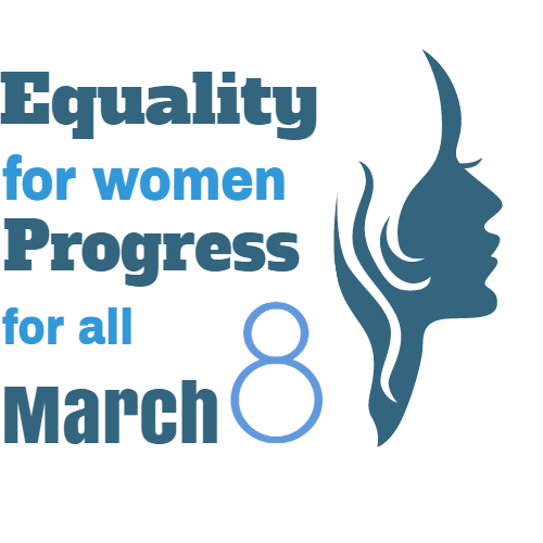 equality for women progress for all march