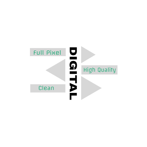 digital full pixel high quality clean