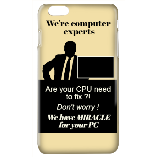 we're computer experts are your cpu need to fix? don't worry! we have miracle for your pc