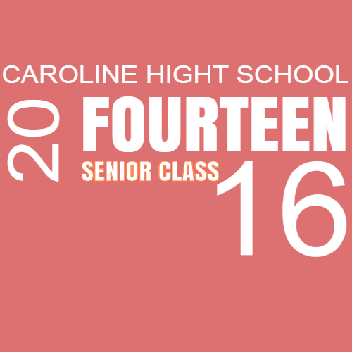 caroline high school fourteen senior class