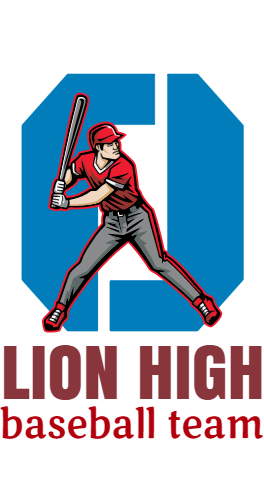lion high baseball team